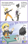 Naruto - Its time to D DDDDuel by tacokisses