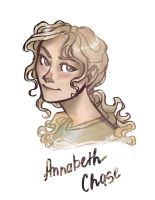 30 days of The Heroes Of Olimpus:2. Annabeth Chase by drakonarinka