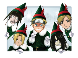 FMA -Naruto- Elves XD by JJ-Power