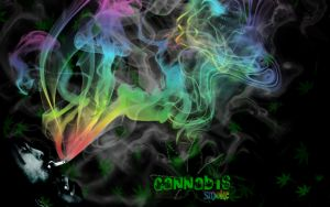 Cannabis - Smoke Desktop by EmmaL27