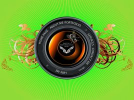 Camera Lens webpage design by whendt