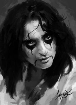 alice cooper or something i guess by tomsacoolcat