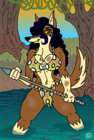 Cavewoman Lucy by UncleScooter