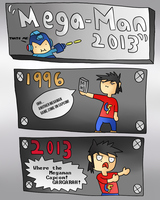 Megaman 2013 by thegamingdrawer