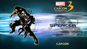 Marvel VS Capcom 3 Spencer by CrossDominatriX5