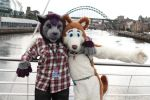 Huggles on the tyne by Timi-Air