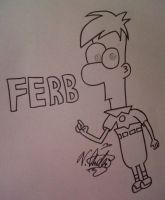 Ferb by Sweet-Angel-Girl