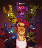 FNaF world Bon squad by xNIR0x