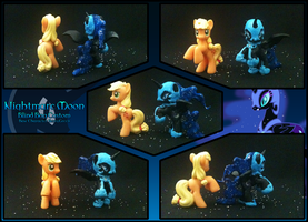 Nightmare Moon Blind Bag Custom by ShadoWolfozo