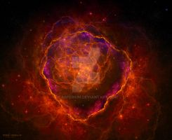Rose Nebula by Casperium