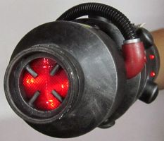 Ghostbusters Arm Cannon by firebladecomics