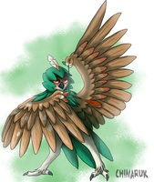 Decidueye by Chimaruk