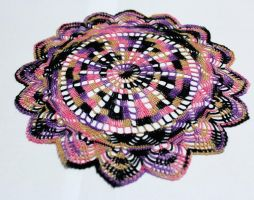 sewing thread doily by rosemaryjayne