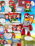 Megaman: S-H-D Manga Page 17 by Sonicbandicoot