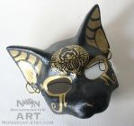 Bast Mask with Scarab by nondecaf