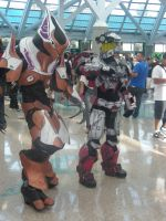 Halo Cosplay 2 AX 2011 by MidnightLiger0