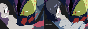 Kill la Kill- Oc and Senketsu W/Hair/Jacket Base by TFAfangirl14