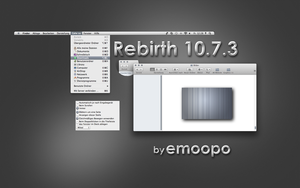 OS X Lion Theme Rebirth by emoopo