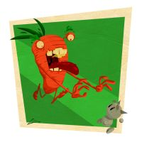 carrot hungry by salvo