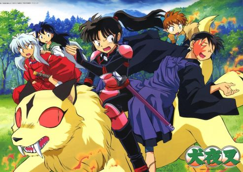 Inuyasha characters 2 by bizel55