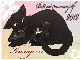Our Cat Mommy by Qvi