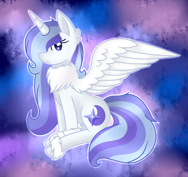 Crystal Aurora Fluffy Wings by 6FigersLoverEver