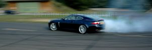 Jaguar XKR: Drift King by Vipervelocity