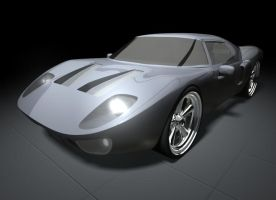 Ford GT 3D Modelling by southercomfort