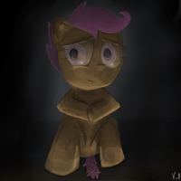 scared scootaloo by vovab