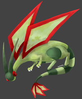 Flygon by ieaka