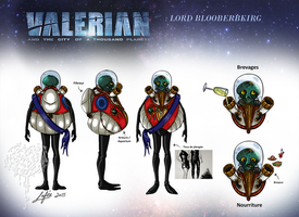 Design Costume Lord Blooberbeirg by MecaniqueFairy