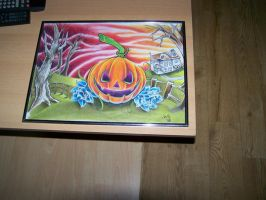 Finished Pumpkin painting by WillemXSM