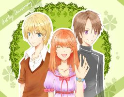 Trio ^_^ by Annimay