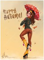 Autumn Babe by Elias-Chatzoudis