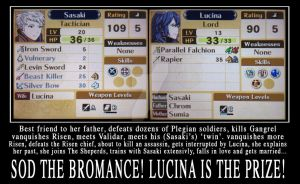 MU and Lucina are married by Grey-Knight