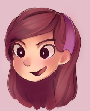 mabel sketch by MissionComplete