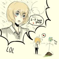 Armin I-I love youu by Kuro-5an