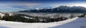 ...winter in Zakopane 1... by eugi3