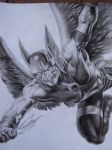 Hawkman by LuisCartecorp