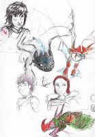 HTTYD2 Sketchbook Page by little-ampharos