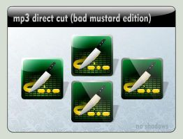 mp3 direct cut Dock icon (bad mustard edit) by LustaufMeer