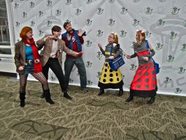Dalek Attack! by E-The-Zombie