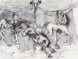 Carousel Horse series...pt2 by AndreAla-Rae