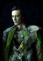 Loki Laufeyson by Lady-Kira-Night