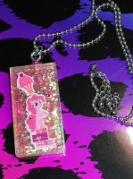 Pinkie Pie Pendant by JoshsPonyPrincess