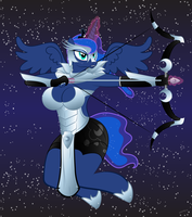 92. Princess Of The Night (Preview) by Skeletal-K9