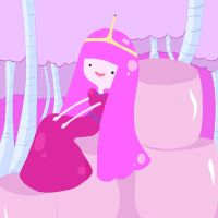 Princess bubblegum by MuffinCrave