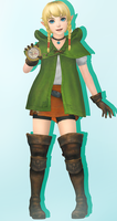 Hyrule Warriors Legends - Linkle + Model Download by ChochoYatori