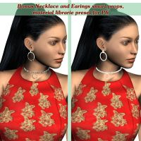 NECKLACE and EARRINGS by DiYanira
