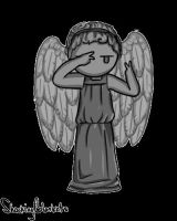 Weeping Angel Dancing by shockingblankets